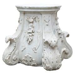 Baroque Pedestal, Vienna, circa 1780