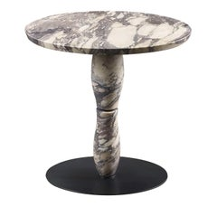 Mediterranée Marble Small Table by Promemoria