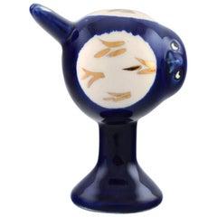 Rare Figure, Lisa Larson for K-Studion/Gustavsberg, Bird in Glazed Ceramics