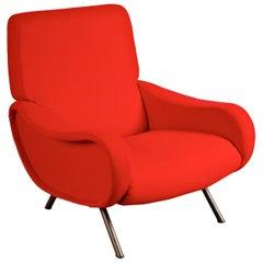 """Erstausgabe """"Lady"""" Easy Sessel von Marco Zanuso für Arflex, Italien um 1950"""