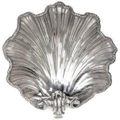 Großen viktorianischen Silber Schale Dish