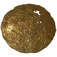 Moon, Bronze Wall Art