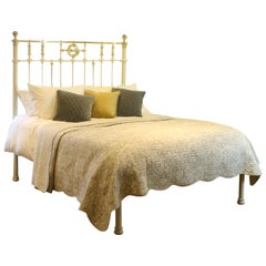 Decorative Antique Platform Bed in Cream - MK171