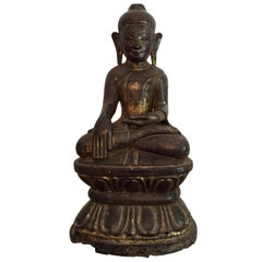 Burmese Wooden Buddha, 18th Century