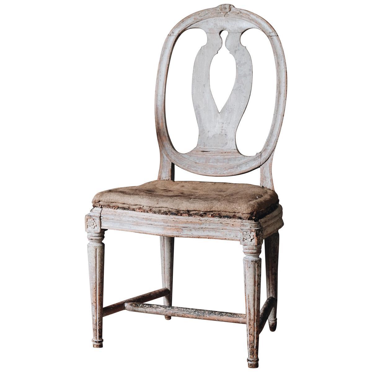 18th Century Gustavian Chair