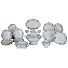 Royal Vienna Porcelain Dinner Service, Partial, 1851