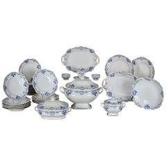 Royal Vienna Porcelain Dinner Service, Partial, 1851