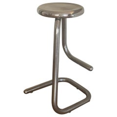 Tubular Chrome Steel Bar Stools K700 Kinetics