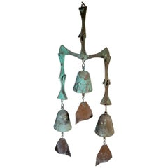 Bronze Paolo Soleri Wind Bell Chime
