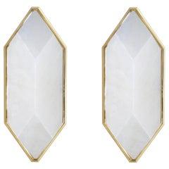 TFB Rock Crystal Sconces by Phoenix