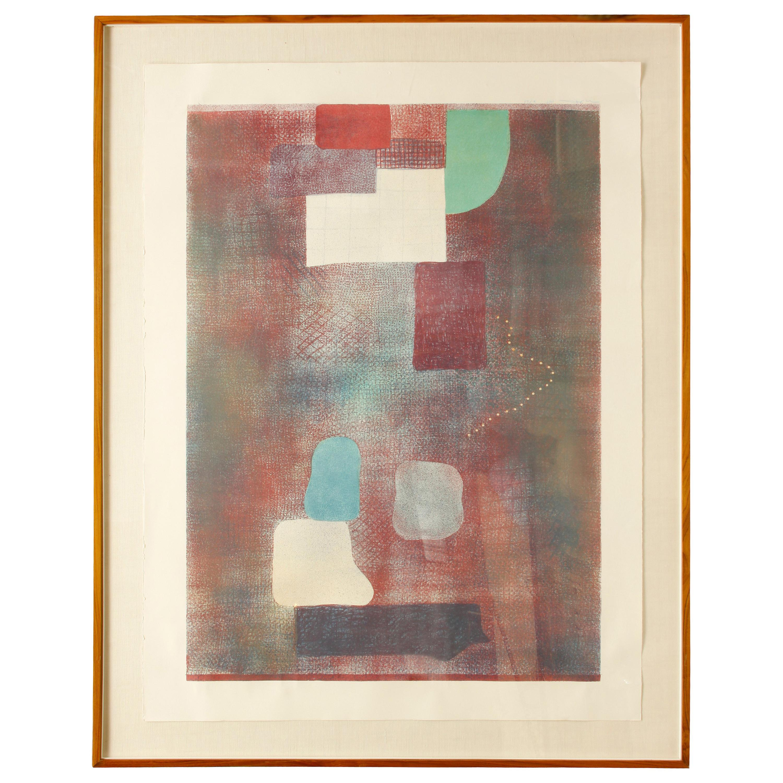 Robert Natkin Signed Lithograph, 1985
