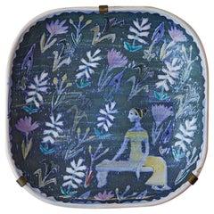 Original Birger Kaipiainen Ceramic Hanging Platter