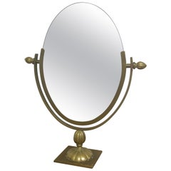 Charles Hollis Jones Brass Mirror