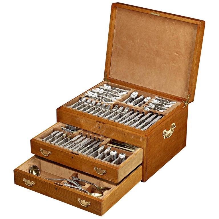 Tiffany & Co. Renaissance Silver Flatware Service, 417 Pieces For Sale