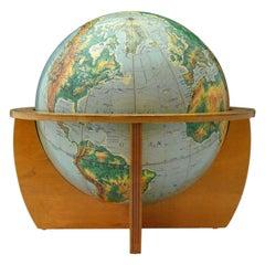 1960s Vintage Globe
