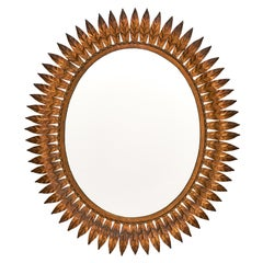 Sunburst Spanish Tole Mirror