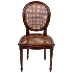 20th Century Set of Six Louis XVI Style Dining Chairs