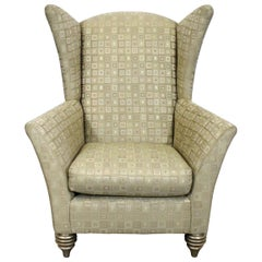 Modern Larry Laslo for Directional Club Wing Chair