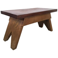 Jeanneret Style Table