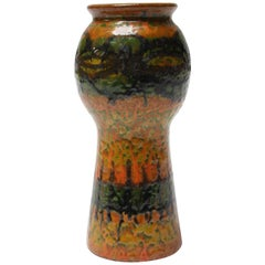 Midcentury Studio Pottery Terracotta Vase