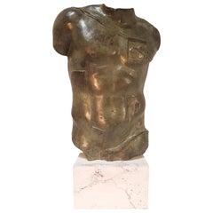 "Igor Mitoraj ""Perséé"" Torso, Bronze 1988"