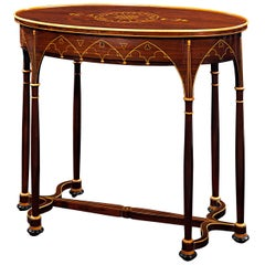 Charles X Rosewood Side Table
