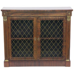 Regency Rosewood Side Cabinet, circa 1820