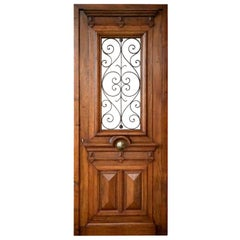 Antique French Entry Door