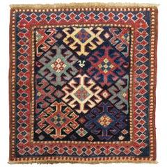 Small Caucasian Kazak Rug