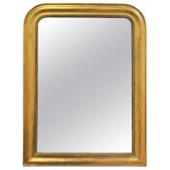 19th Century Gilded Louis Philippe Period Mirror