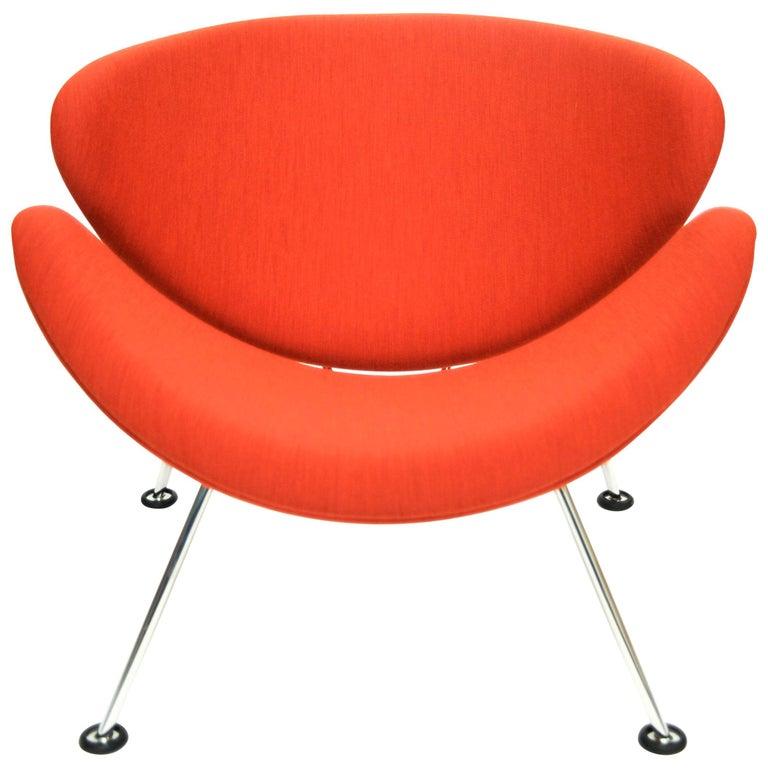 Orange Slice Jr Chair by Pierre Paulin in Febrik 'Uniform', Netherlands For Sale