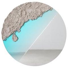 Flood Mirror, Sand, Resin and Mirror by Fernando Mastrangelo, New York
