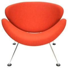 Orange Slice Jr Chair by Pierre Paulin in Kvadrat 'Divina Melange2', Netherlands