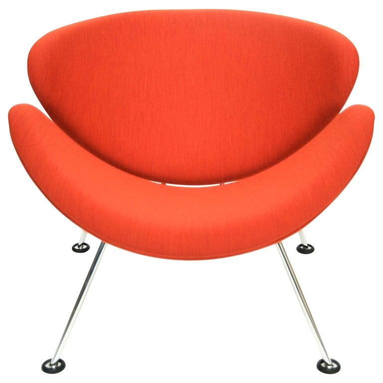 Orange Slice Jr Chair by Pierre Paulin in Kvadrat 'Divina Melange2', Netherlands For Sale