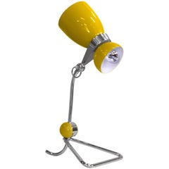 Delightfull Amy Table Light in Yellow and Silver