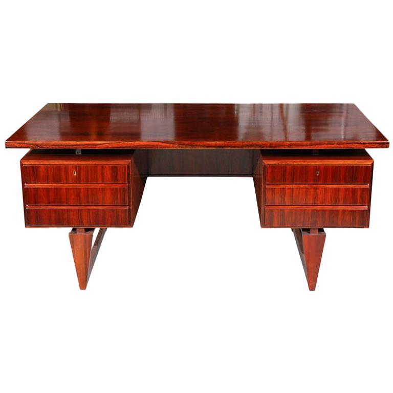 Rosewood Desk from Denmark For Sale