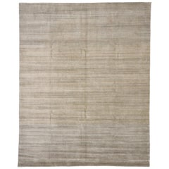 New Transitional Ombre Area Rug With