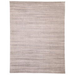 Transitional Area Rug with Scandinavian Modern Swedish Shabby Chic Style