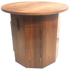 Harvey Probber Dry Bar Table in Rosewood