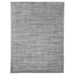 Transitional Nordic Gray Area Rug with Modern Scandinavian Style