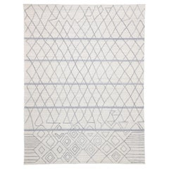 Contemporary Rug with Modern Moroccan Style, Texture Area Rug