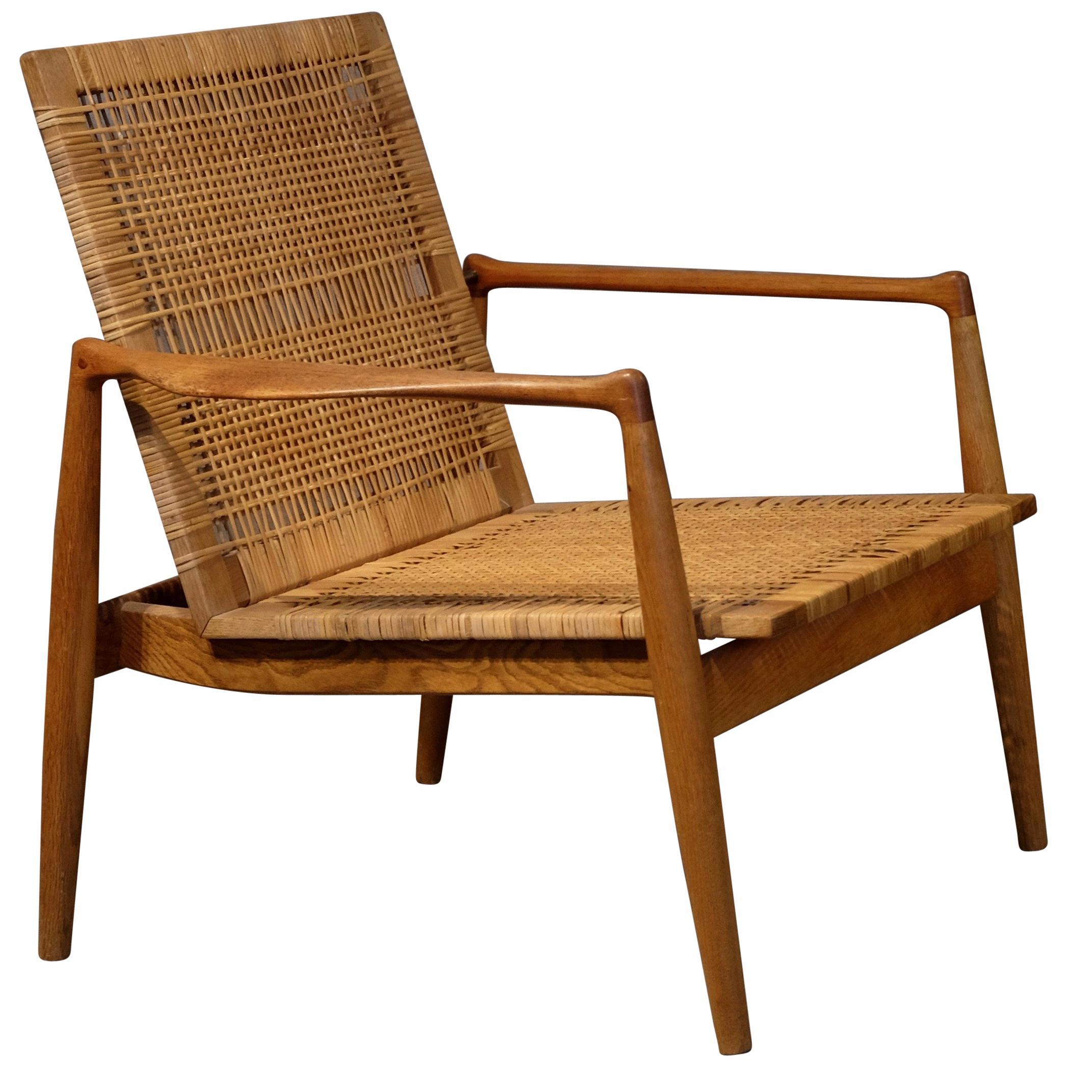 Rare Finn Juhl SW-96 Easy Chair for Cabinetmaker Søren Willadsen, 1950s