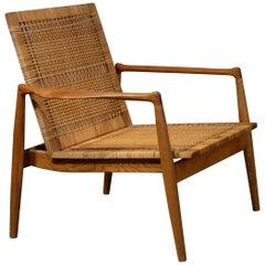 Seltene Finn Juhl SW-96 Sessel für Tischler Søren Willadsen, 1950er Jahre