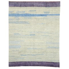 New Contemporary Moroccan Rug with Postmodern Style and Memphis Design