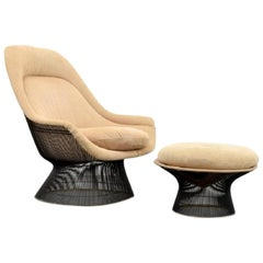 Warren Platner Lounge Chair and Ottoman