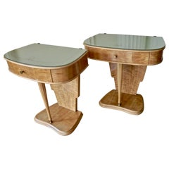 Pair of Side Tables by Paolo Buffa, Italy, 1950