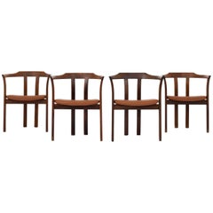 Set of Dining Chairs by Hans Olsen