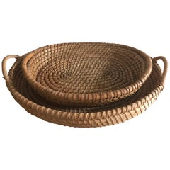 Belgian Winowing Farm Baskets