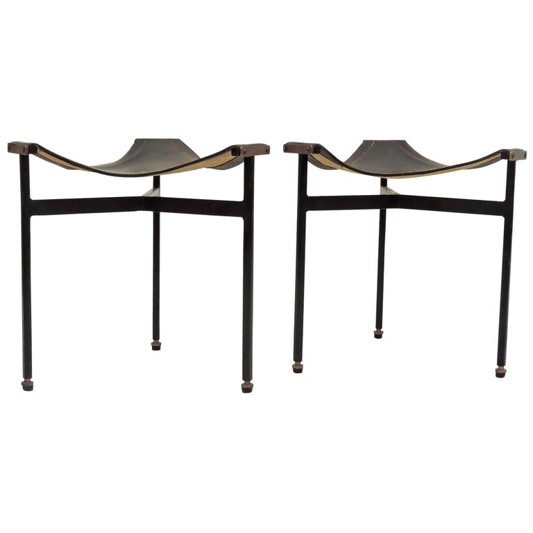 Pair of Italian 1960s Stools For Sale