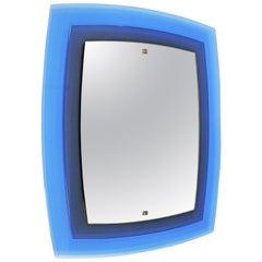 Fontana Arte Mod. 2180 Wall Mirror, Italy, 1960s